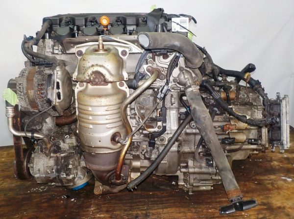 Двигатель Honda R20A - 1702187 AT MXHA FF 4WD RK коса+комп 1
