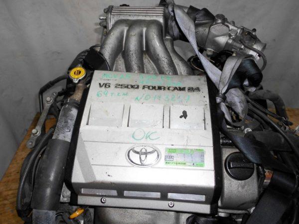 Двигатель Toyota 2MZ-FE - 0113267 AT A541F-04A FF 4WD MCV25 69 000 km коса+комп 2