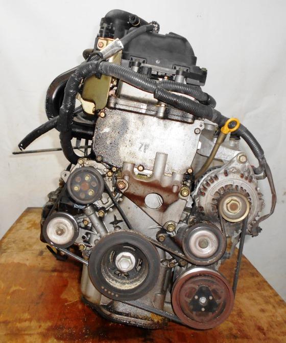 Двигатель Nissan CR12-DE - 354746 AT RE4F03B FF AK12 115 000 km коса+комп 3