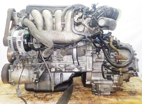 Двигатель Honda K20A - 6007024 AT MCTA FF CL7 коса+комп 2