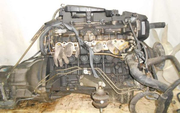 Двигатель Toyota 1G-FE - 6979707 AT 03-70LS A42DE-A04A FR GX110 BEAMS 115 000 km коса+комп 5
