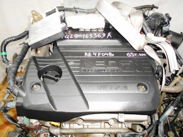 Двигатель Nissan VQ25-DD - 163369A AT RE4F04B FF PA33 65 000 km коса+комп 2