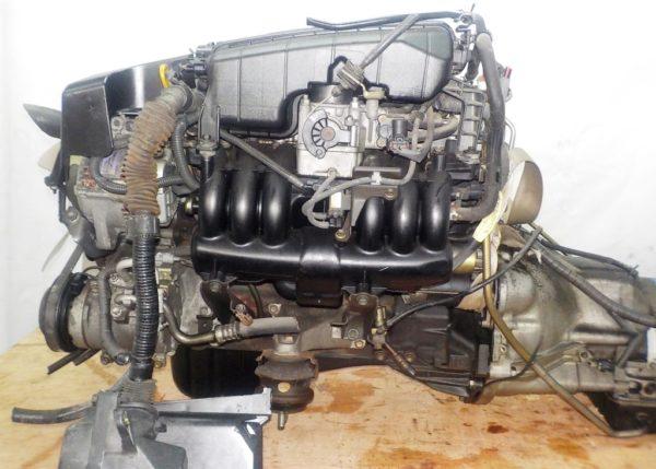 Двигатель Toyota 1G-FE - 6975201 AT 03-70LS A42DE-A05A FR GX110 BEAMS 160 000 km коса+комп 1