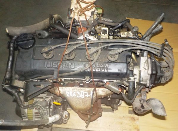 Двигатель Nissan CG13-DE - 246387A AT FF, брак крышки клапанов, без КПП 2