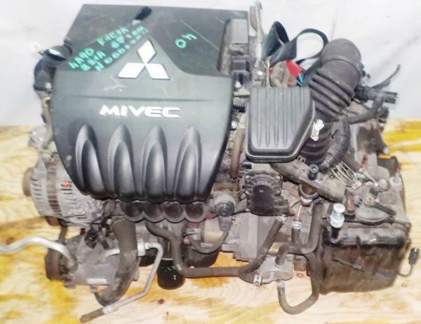 Двигатель Mitsubishi 4A90 - 0002754 CVT F1C1A FF Z21A 67 000 km коса+комп 2