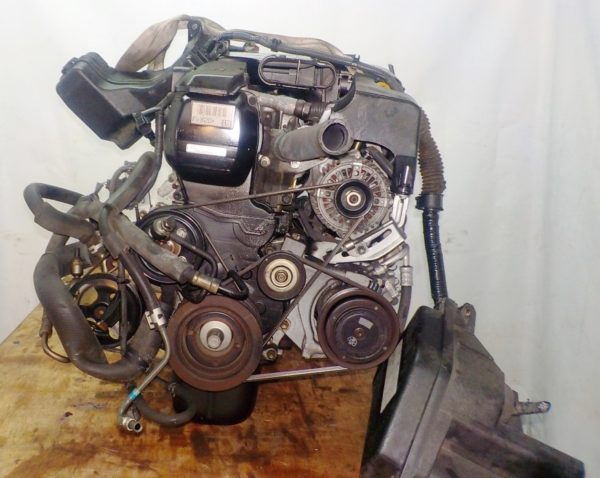 Двигатель Toyota 1G-FE - 7042309 AT 03-70LS A42DE-A04A FR GX110 BEAMS 160 980 km коса+комп 4