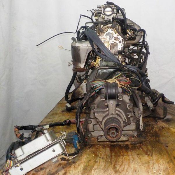 Двигатель Mazda FE - 989417 AT FR SGEW 159 000 km коса+комп 9