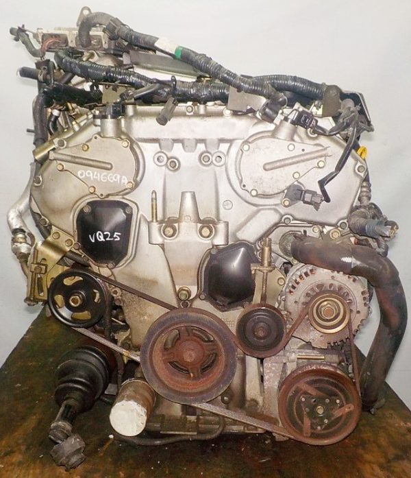 Двигатель Nissan VQ25-DD - 094669A AT RE4F04B FF A33 NEO без датчика скорости 3