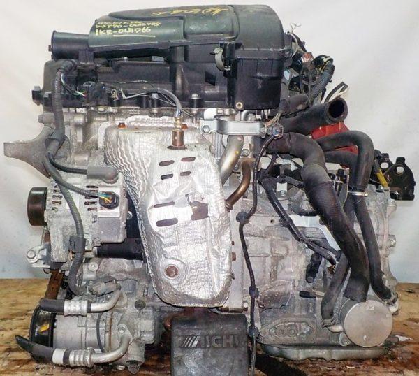 Двигатель Toyota 1KR-FE - 0131766 CVT K410-04A FF KSP90 коса+комп 1