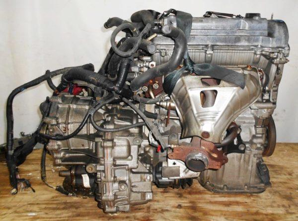 Двигатель Toyota 1NZ-FE - БЕЗ НОМЕРА CVT K210-02A FF NCP81 86 000 km электро дроссель коса+комп 4