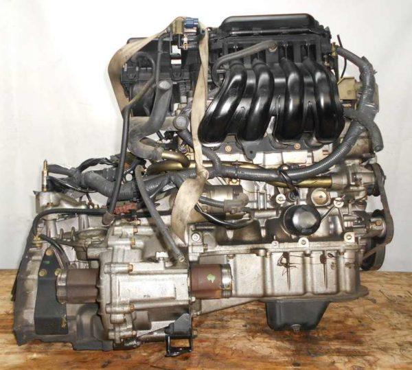 Двигатель Nissan CR14-DE - 249687 AT RE4F03B FF Z11 102 000 km коса+комп 4