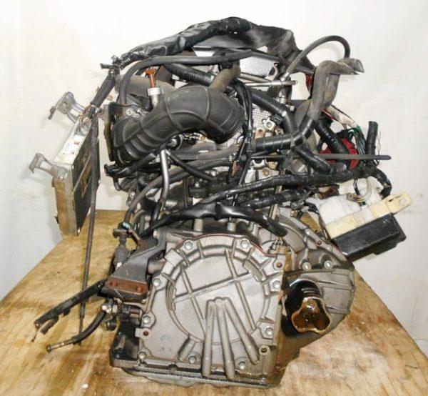 Двигатель Toyota 2NZ-FE - 3688752 AT U441E FF NCP30 коса+комп, без датчика скорости 6