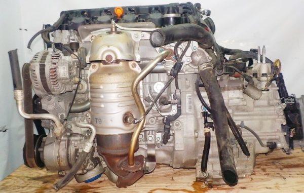 Двигатель Honda R18A - 1725194 CVT SXEA FF RN6 111 927 km коса+комп 1