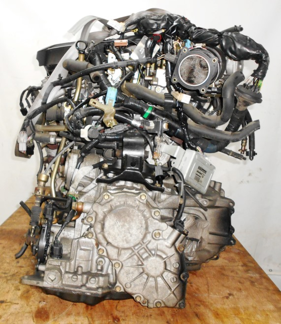 Двигатель Nissan VQ25-DD - 163369A AT RE4F04B FF PA33 65 000 km коса+комп 5
