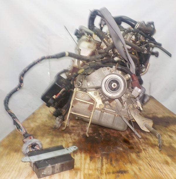 Двигатель Daihatsu EF-DEM - 7309891 AT FR (8950-87450,112200-2181) 119 000 km коса+комп 6