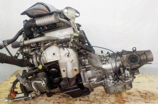 Двигатель Daihatsu EF-DET - 7570706 AT YBS5 FR J151G 115 193 km 1