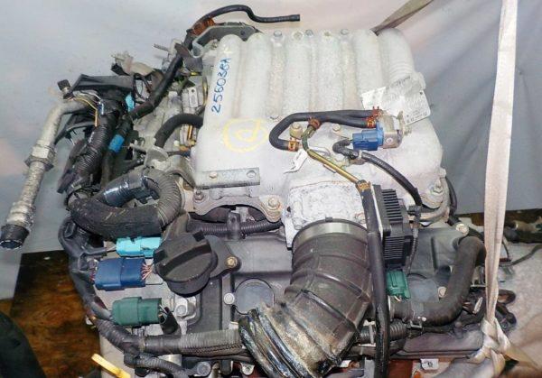 Двигатель Nissan VQ25-DE - 256038A AT RE5R05A FR Elgrand коса+комп 2