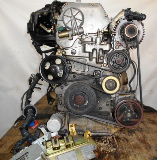 Двигатель Nissan QR20-DE - 375805A CVT RE0F06A FP54 FF TP12 139 000 km коса+комп 4