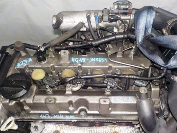 Двигатель Mitsubishi 4G15-T - JN3851 CVT F1C1A FF Z27A 147 724 km коса+комп 2