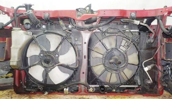 Ноускат Honda Fit GD1, (2 model), без радиатора кондиционера (W11201751) 6