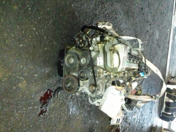 Двигатель Toyota 1ZZ-FE - 1298962 AT U341E FF ZCT10 Black 143 000 km коса+комп 4