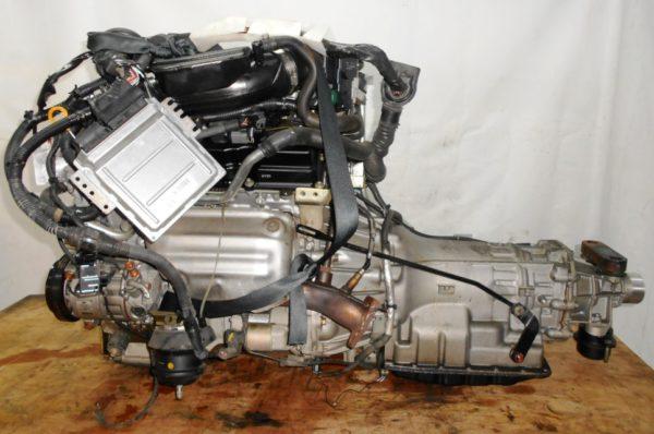 Двигатель Nissan VQ25-DE - 312559A AT RE5R05A FR Y50 149 000 km коса+комп 1