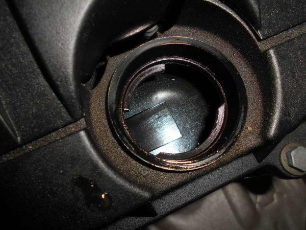 Двигатель Peugeot PSA - 02535550 206 AT FF 10FX7E 98 000 km коса+комп 6