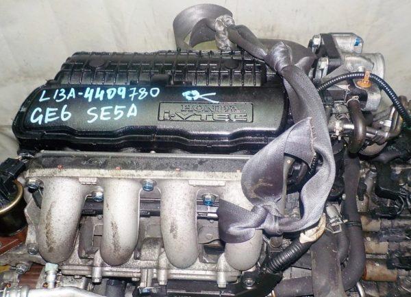 Двигатель Honda L13A - 4409780 CVT SE5A FF GE6 коса+комп 2