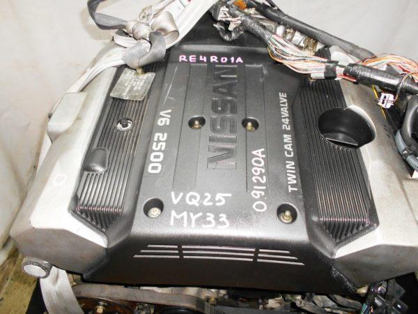 КПП Nissan VQ25-DE AT RE4R01A FR MY33 2