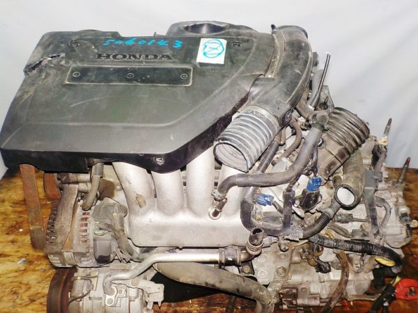 Двигатель Honda K24A - 5060143 AT MFHA FF RB1 коса+комп 2