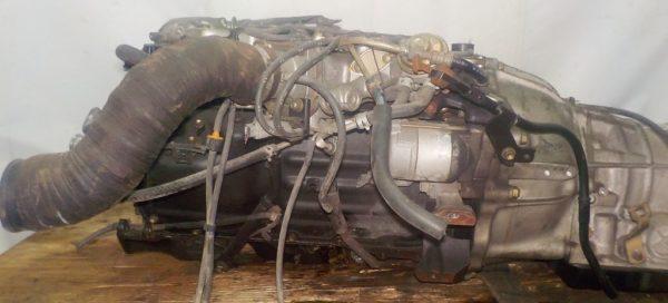 Двигатель Toyota 2TZ-F - 1591158 AT 30-40LE 35000-28870 FR 4WD 4