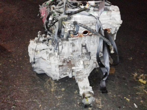 Двигатель Toyota 1NZ-FE - B156648 AT U340F FF 4WD NCP85 124 000 km механический дроссель коса+комп 1