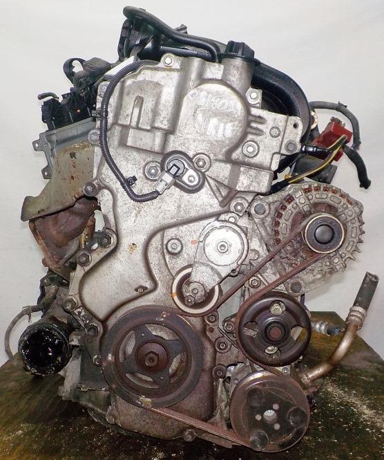 Двигатель Nissan MR18-DE - 081803A AT RE4F03B FQ40 FF VJY12 100 615 km коса+комп 3