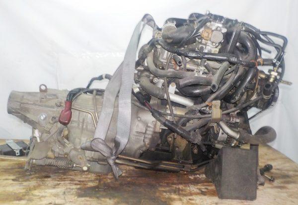 Двигатель Daihatsu EF-DEM - 7309891 AT FR (8950-87450,112200-2181) 119 000 km коса+комп 5