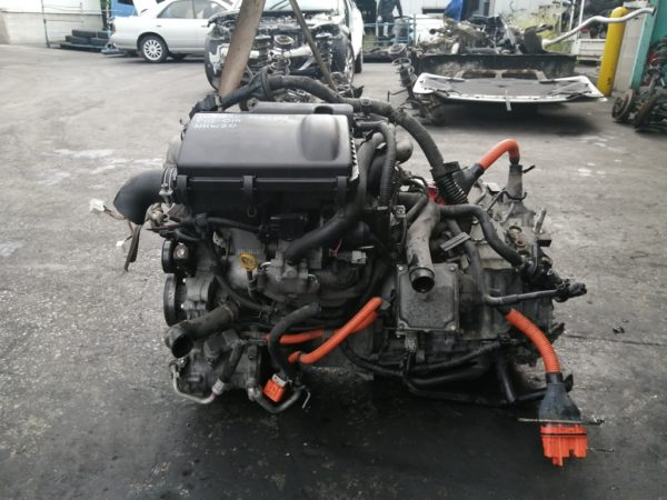 Двигатель Toyota 1NZ-FXE - 3639768 AT P112-01A FF NHW20 коса+комп 1