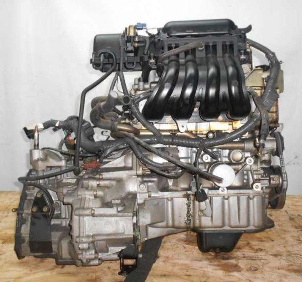 Двигатель Nissan CR14-DE - 035884A AT RE4F03B FQ40 FF BZ11 96 000 km коса+комп 4
