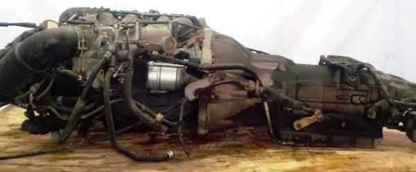 Двигатель Toyota 2TZ-FZE - 1382105 AT 03-71LE 35000-28542 FR Estima 1