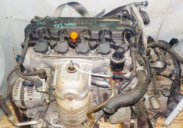 Двигатель Honda R18A - 1725194 CVT SXEA FF RN6 111 927 km коса+комп 2