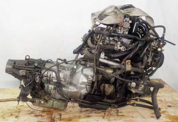 Двигатель Daihatsu EF-DET - 7570706 AT YBS5 FR J151G 115 193 km 6