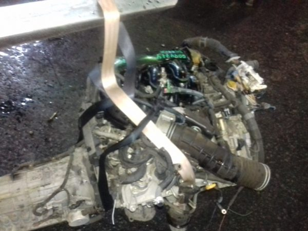 Двигатель Toyota 3GR-FSE - 0044774 AT A760E FR GRS182 95 000 km коса+комп 6