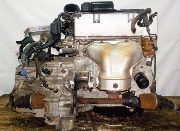 Двигатель Honda K24A - 5538128 AT MFKA FF RB1 коса+комп 4
