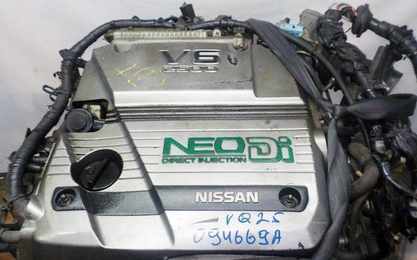 Двигатель Nissan VQ25-DD - 094669A AT RE4F04B FF A33 NEO без датчика скорости 2