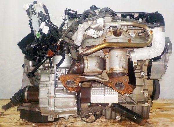 Двигатель Volkswagen AXW - 019737 AT FF коса+комп 5