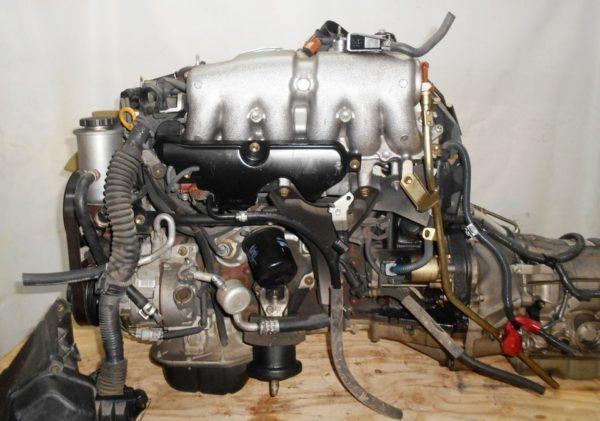 Двигатель Toyota 2JZ-FSE - 0753420 AT 35-50LS A650E-A02A FR JZS177 119 000 km коса+комп, нет выпускного коллектора 1