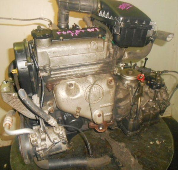 Двигатель Suzuki F6A - 2580766 AT FF селектор и охл.сверху 1
