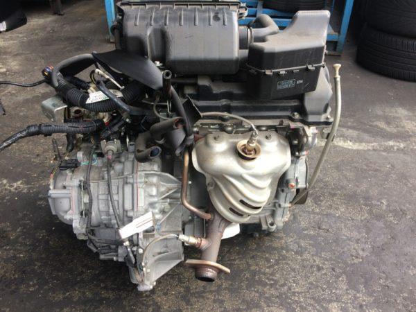 Двигатель Mitsubishi 3A90 - UAD3019 CVT FICJB FF A05A 74 500 km коса+комп 4