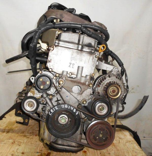 Двигатель Nissan CR12-DE - 251487 AT RE4F03B FQ40 FF AK12 75 000 km коса+комп 5