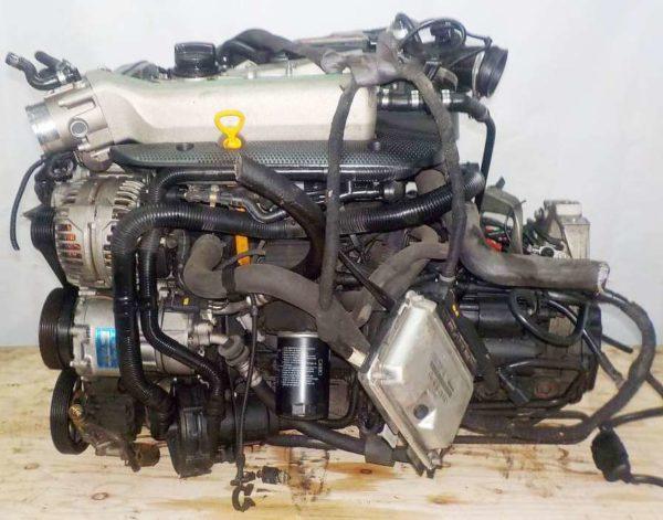 Двигатель Audi AUQ - 005924 MT FF Audi TT 140 960 km + подвеска коса+комп 1