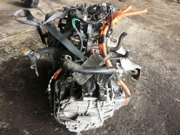 Двигатель Toyota 1NZ-FXE - 6676403 AT P510-01A FF NHP10 коса+комп 5