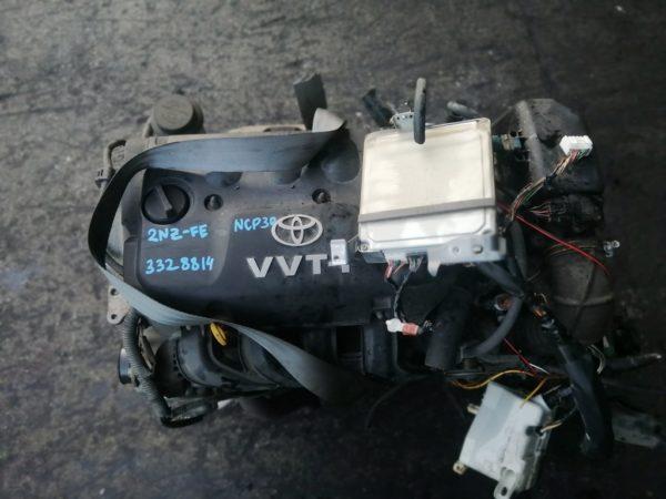 Двигатель Toyota 2NZ-FE - 3328814 AT U441E-02A FF NCP30 143 000 km коса+комп 2